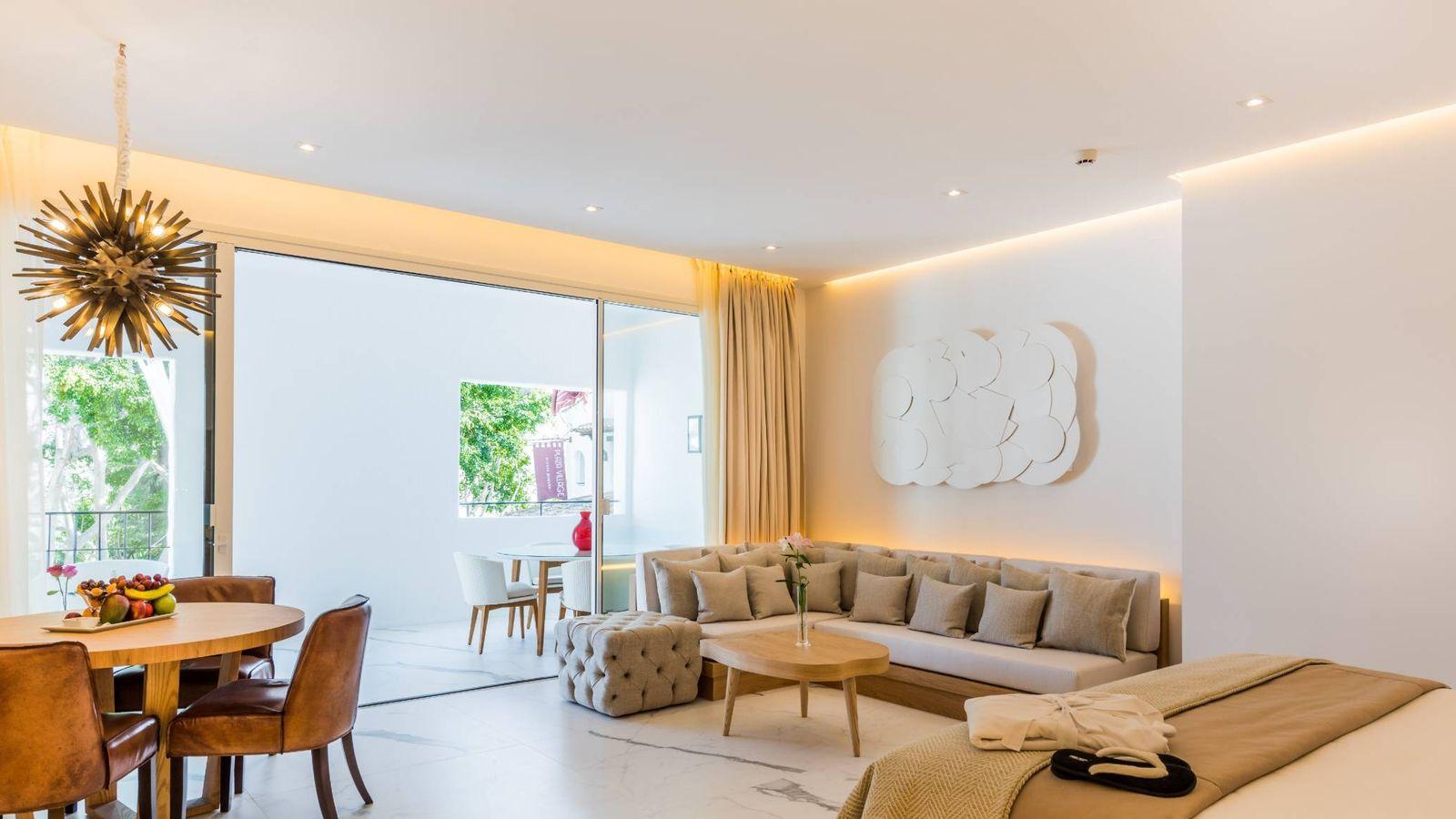 Foto: Imagen de la Suite Junior del Nobu Hotel Marbella de Robert de Niro.