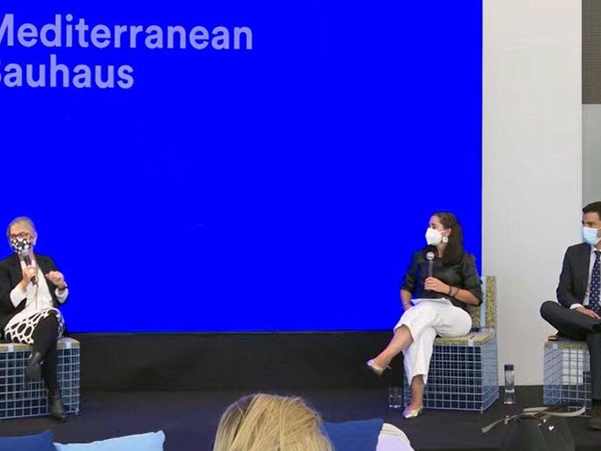 Foto: La presentación del proyecto Mediterranean Bauhaus.