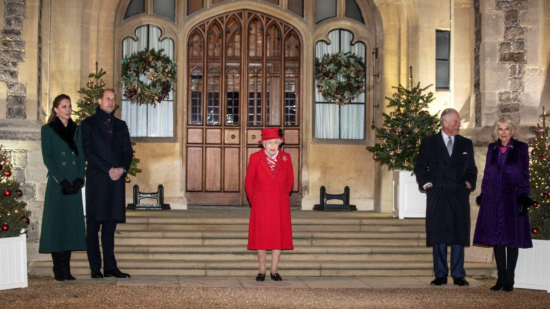 La familia real británica. (Reuters)
