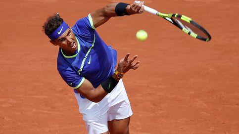 Aplazado por la lluvia el partido de Roland Garros entre Nadal y Carreño