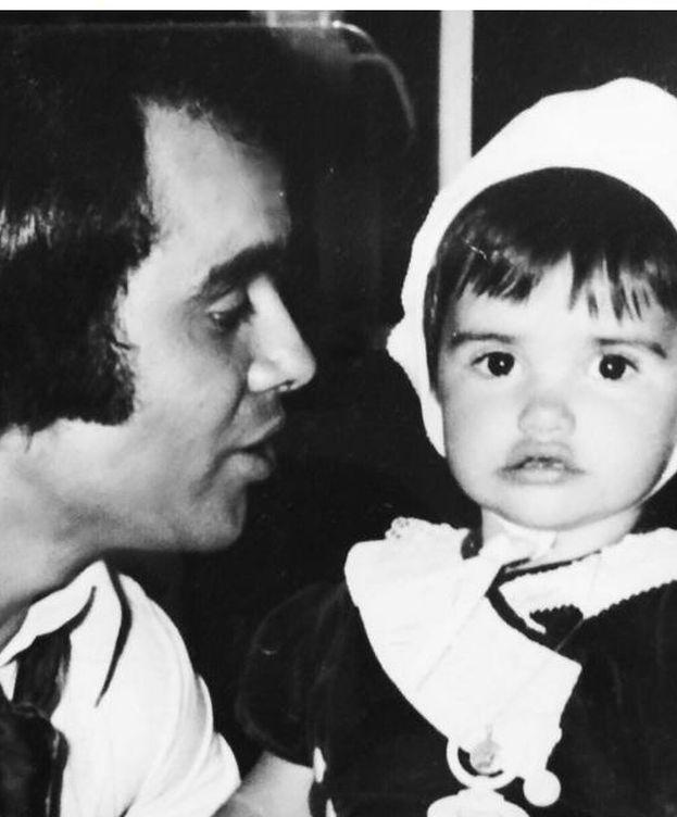 Foto: Penélope Cruz y su padre (Instagram)