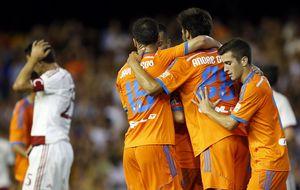 El Valencia de Peter Lim se estrena ganando al Milan de Diego López
