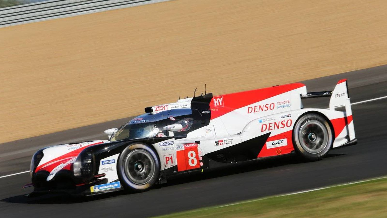 Foto: Buenas sensaciones de Toyota y de Alonso en esta primera sesión de clasificación (Twitter: @Toyota_Hybrid)