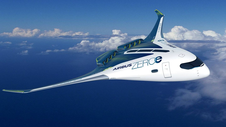 La otra gran esperanza para el futuro de la aviación sostenible es la pila de hidrógeno (Airbus)