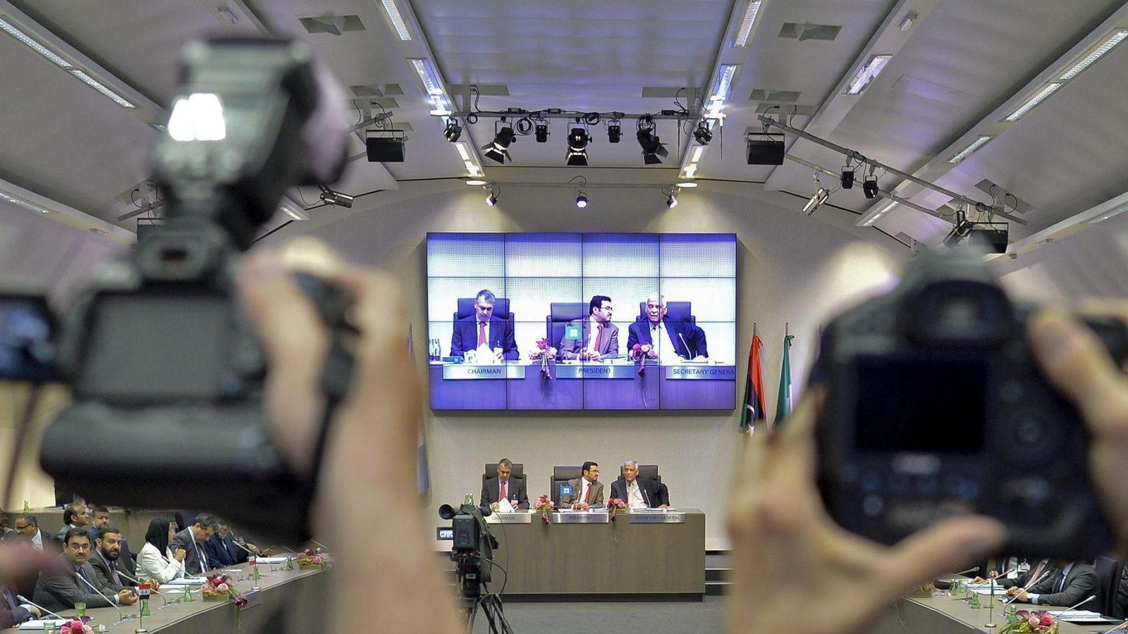 Foto:  El gobernador y presidente alterno de la OPEP. (EFE)