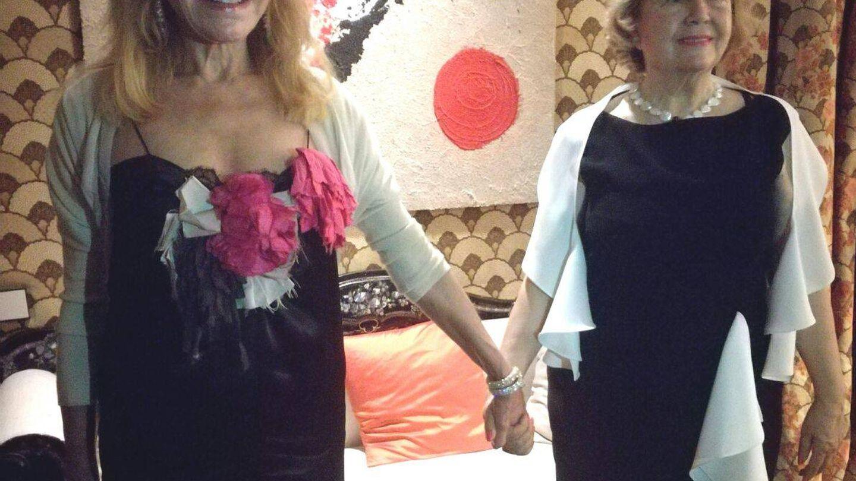 Tita Cervera y Mayte Spinola. (VA)