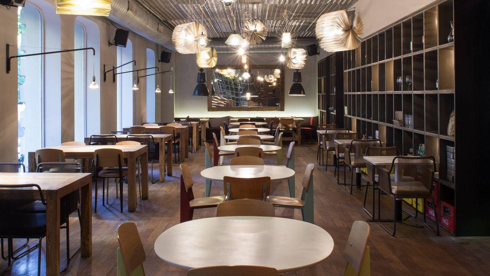 Foto: Bar Tomate, con comida sana, de moda y muy musical.