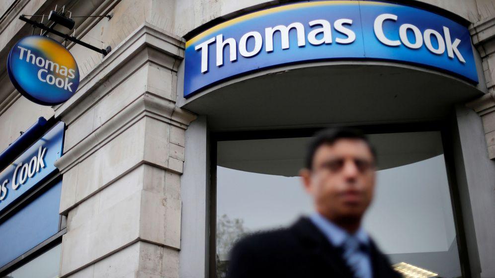Foto: Una oficina de Thomas Cook (Reuters)