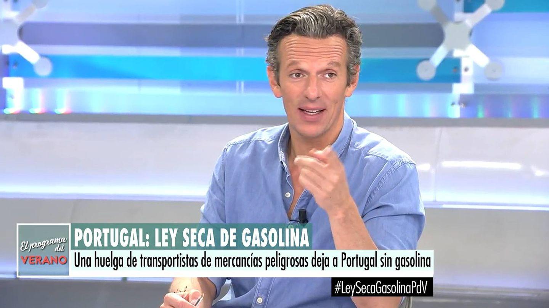 Joaquín Prat, en 'El programa del verano'. (Telecinco)