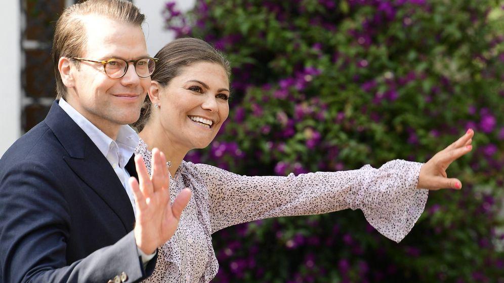 Foto:  Victoria de Suecia y su marido. (Cordon Press)