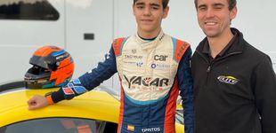 Post de Tomás Pintos, el piloto español que ha asombrado a Gran Bretaña con solo 13 años