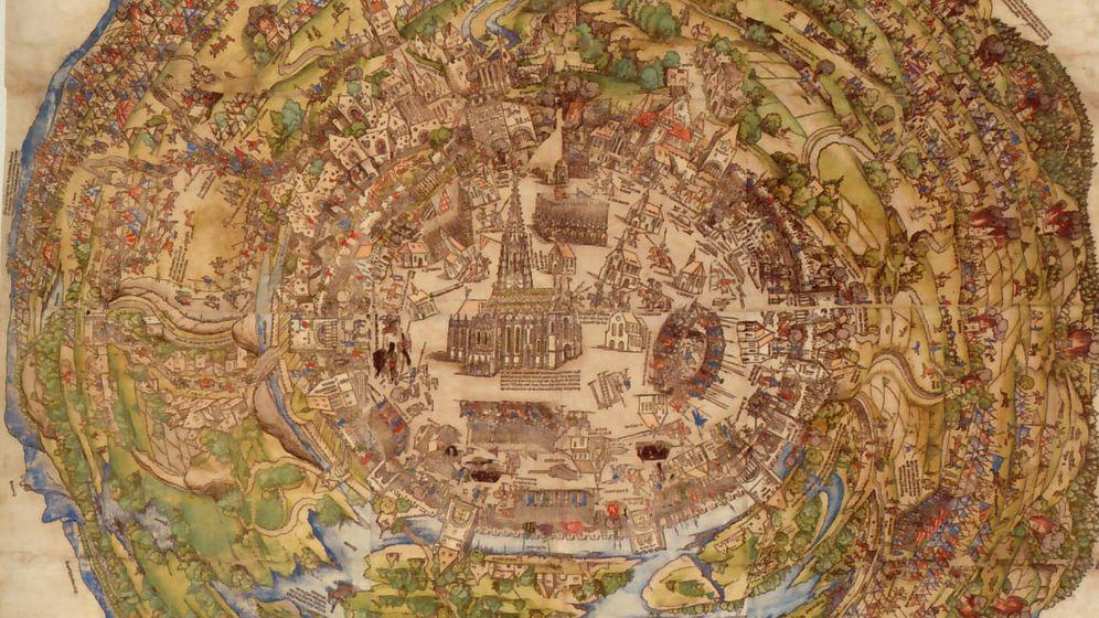 Foto: Miniatura del sitio de Viena.