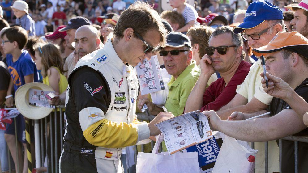 Foto: Antonio García igualará este fin de semana a Jesús Pareja como el español con más participaciones en las 24 Horas de Le Mans. (EFE)