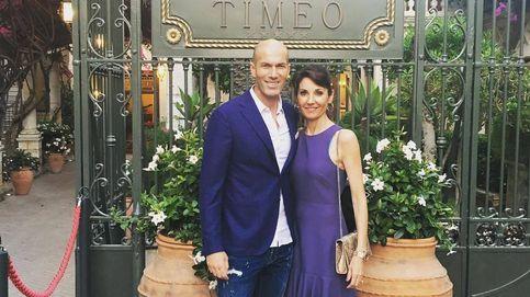 Zidane vuelve al Real Madrid: su mujer, Veronique Fernández, el pilar de Zizou