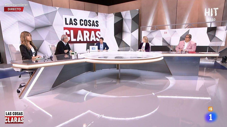 Plató de 'Las cosas claras'. (RTVE)