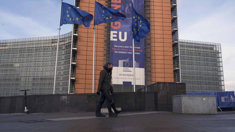 Sede de la Comisión Europea en Bruselas, Bélgica. (EFE)