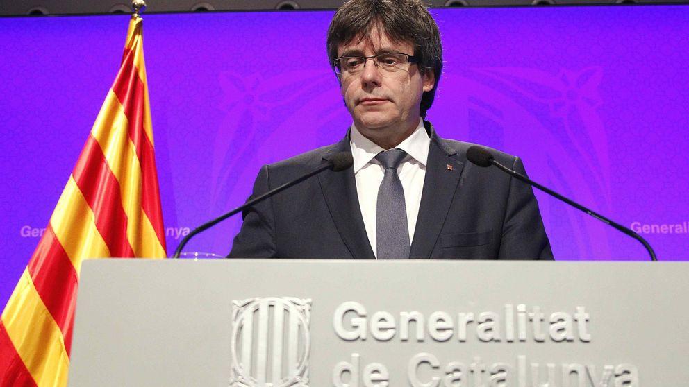 Puigdemont afronta cómo cambiar la hoja de ruta para incluir un referéndum
