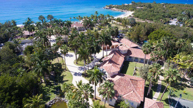 Vista aérea de las villas. (Cortesía de lechateaudespalmiers.com)