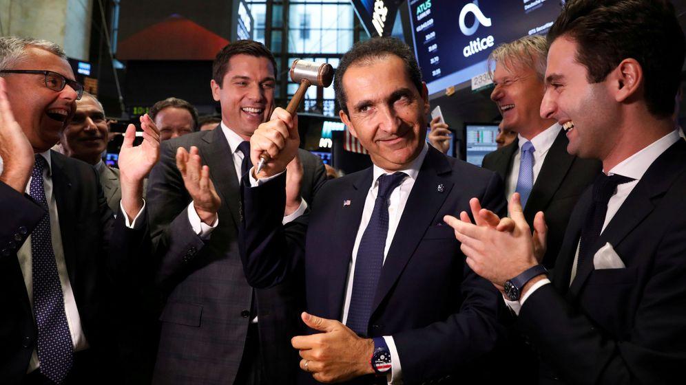 Foto: El magnate de telecomunicaciones, Patrick Drahi. (Reuters)