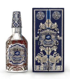Y el lujo se hizo botella... Lacroix diseña una nueva edición limitada de Chivas Regal 18