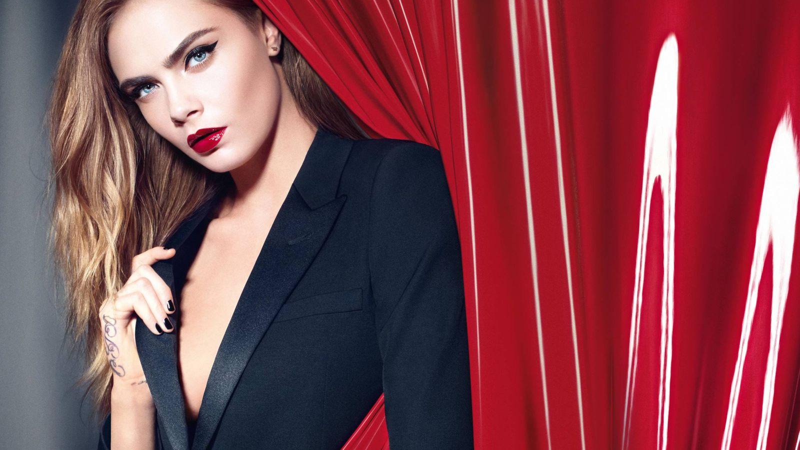 Foto: La modelo Cara Delevingne ha sido imagen de YSL Beauty. (Foto: Cortesía)