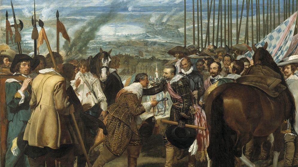Foto: 'Las lanzas' o 'La rendición de Breda', de Diego de Velázquez.