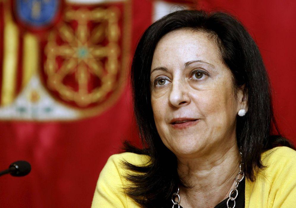 Foto: Margarita Robles, nueva número dos del PSOE por Madrid, en octubre de 2009 en Pamplona. (EFE)