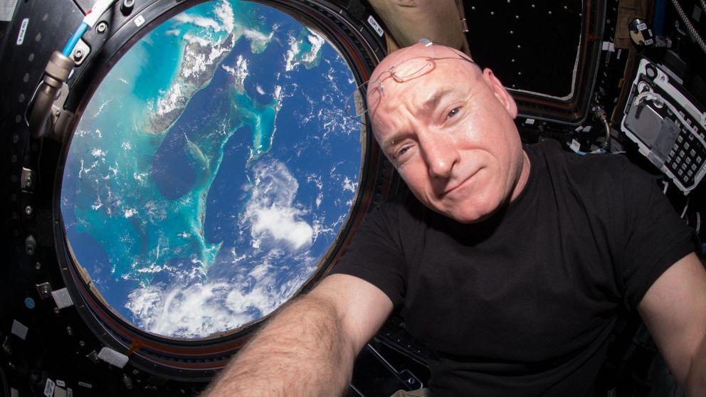 El astronauta Scott Kelly bate el récord estadounidense de permanencia en el espacio