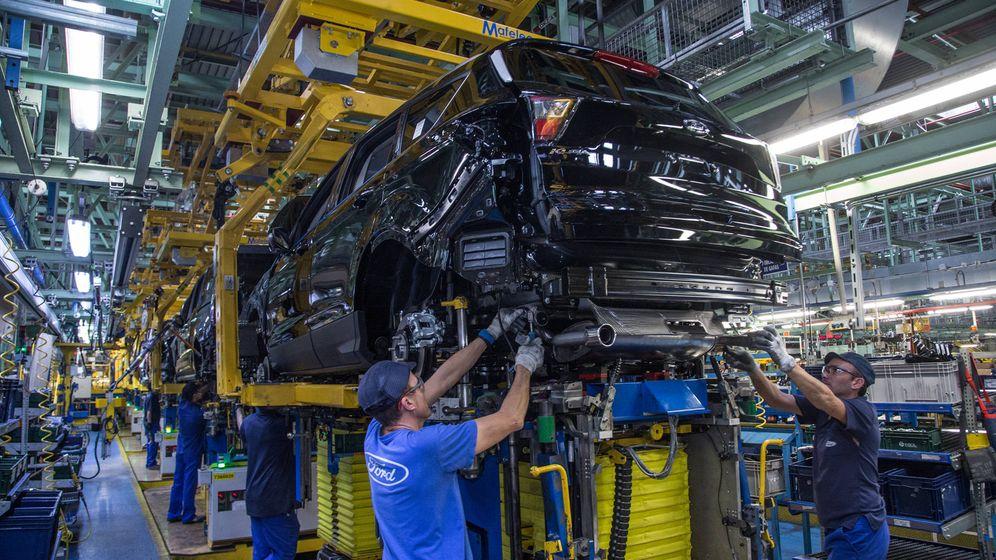 Foto: Imagen de la fábrica de Ford en Almussafes. (EFE)