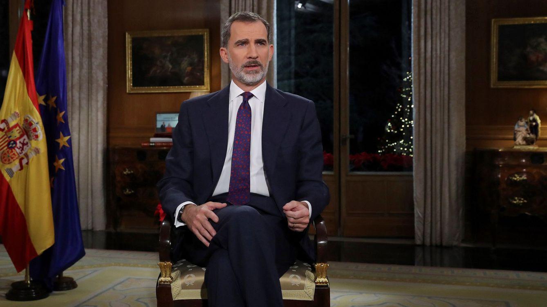Discurso íntegro del rey Felipe VI en la Navidad de 2018