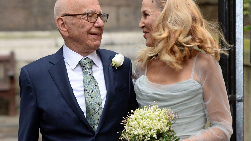 El 'bodón' religioso del magnate Rupert Murdoch y la ex de Mick Jagger