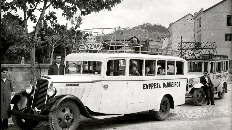 Autobús de la empresa familiar. (Fundación Eduardo Barreiros)
