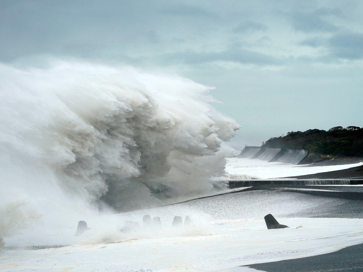 Foto: La cuenca más intensa de ciclones se sitúa en el Pacífico occidental. (EFE)