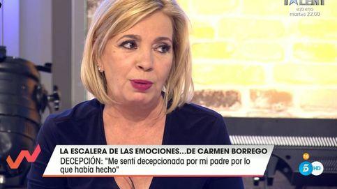 Carmen Borrego habla públicamente sobre el suicidio de su padre