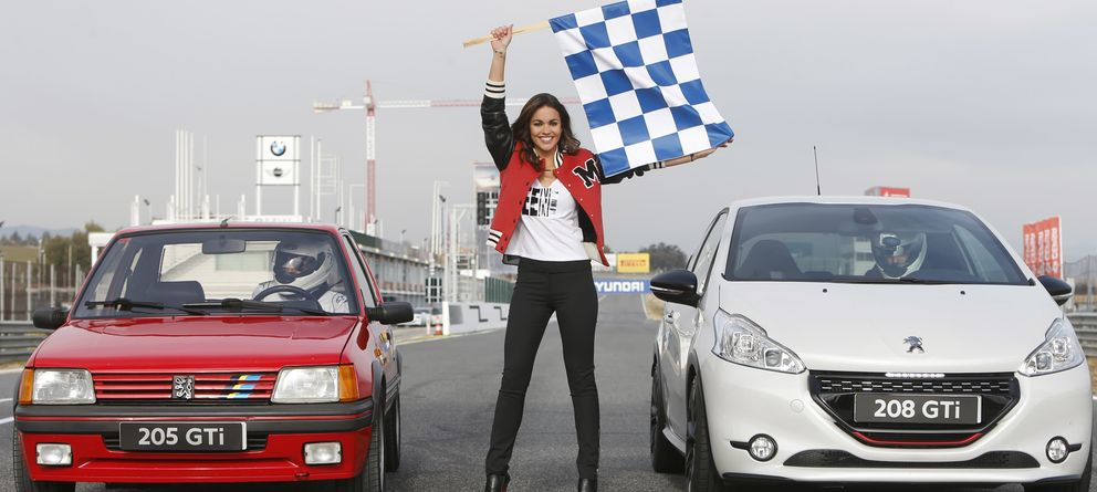 Foto: La periodista, durante un acto de la firma Peugeot (Gtres)