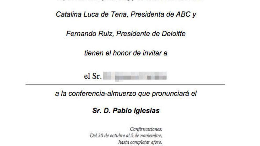 'ABC' no encuentra patrocinador para el Foro con Pablo Iglesias