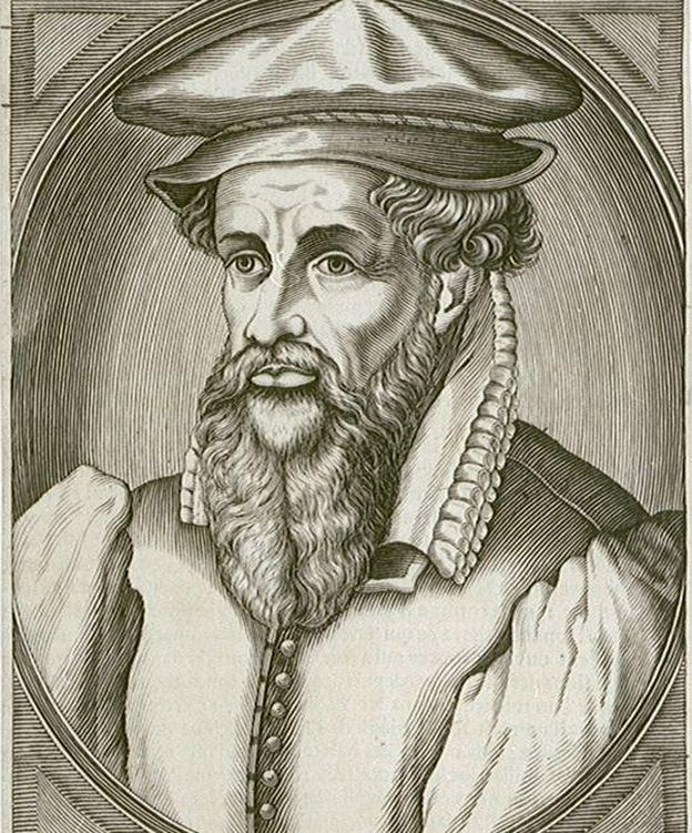 Foto: Gerardus Mercator, el más conocido hacedor de mapas (Wikipedia)