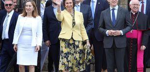 Post de La reina Sofía, impasible y sin actos públicos ante el escándalo