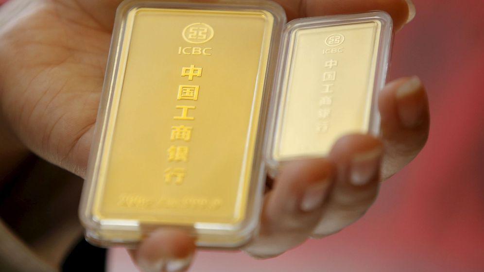 Foto: Inversión en oro (Reuters)