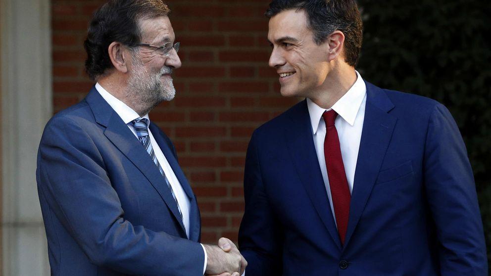 Sánchez respalda a Rajoy con Cataluña y acuerdan coordinar la estrategia