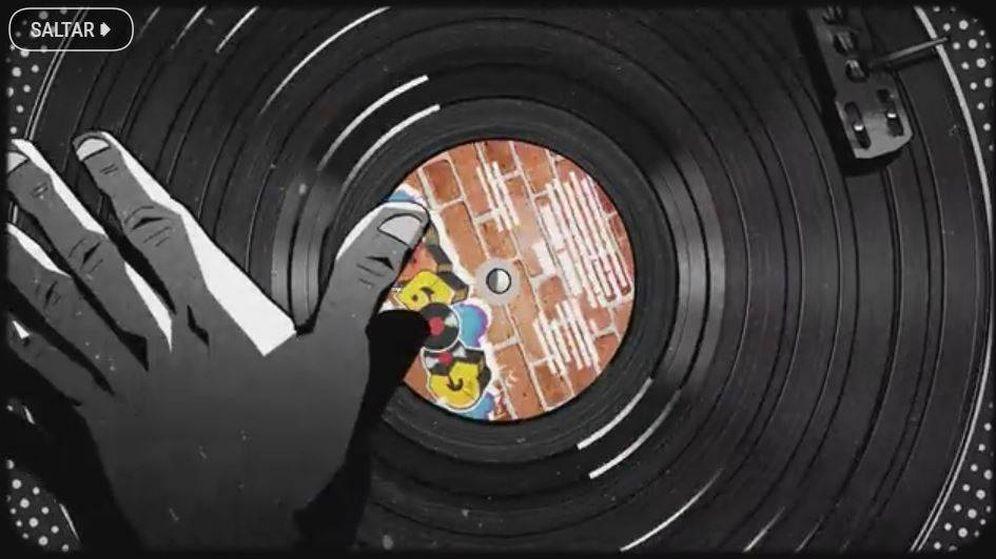 Foto: 'Doodle' del nacimiento del hip hop (Google)