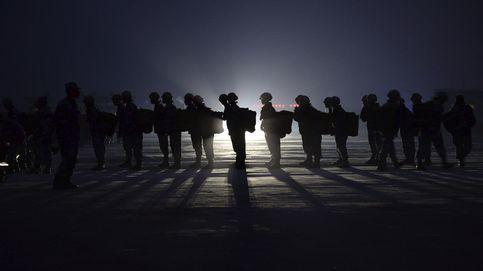 Entrenamiento la brigada paracaidista china