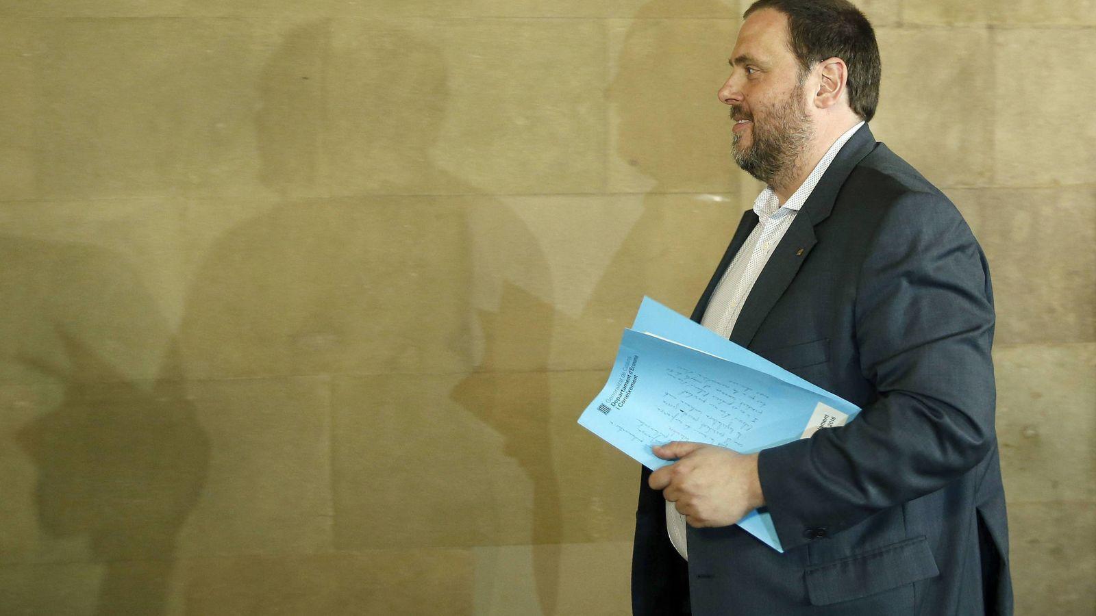 Foto: El vicepresidente de la Generalitat, Oriol Junqueras. (EFE)