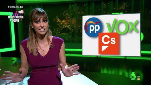 'El intermedio'   El rotundo mensaje de Sandra Sabatés a Vox, PP y Ciudadanos