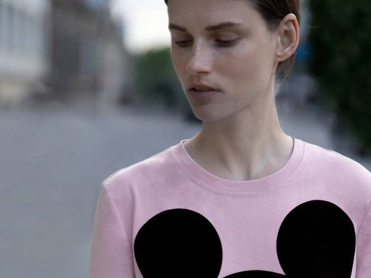 Foto: Nueva camiseta de Disney de Zara. (Cortesía)