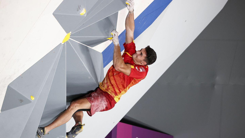 Alberto Ginés, en plena competición. (EFE)