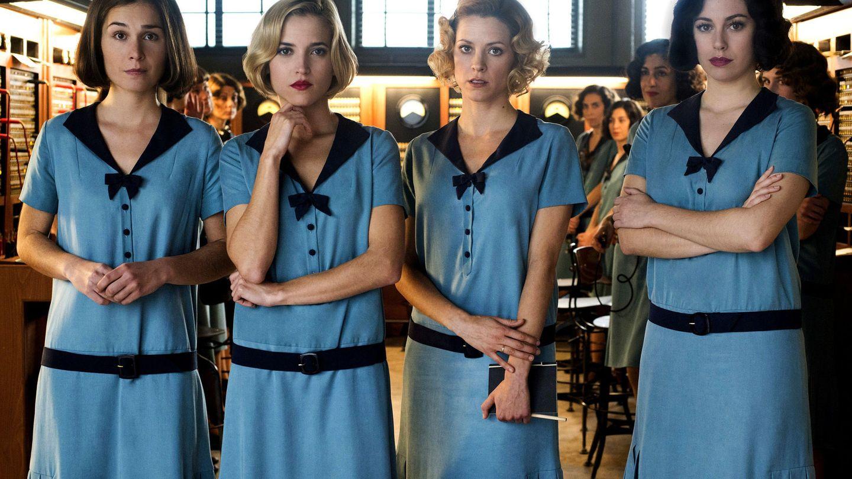 Las protagonistas de 'Las chicas del cable'. (Netflix)