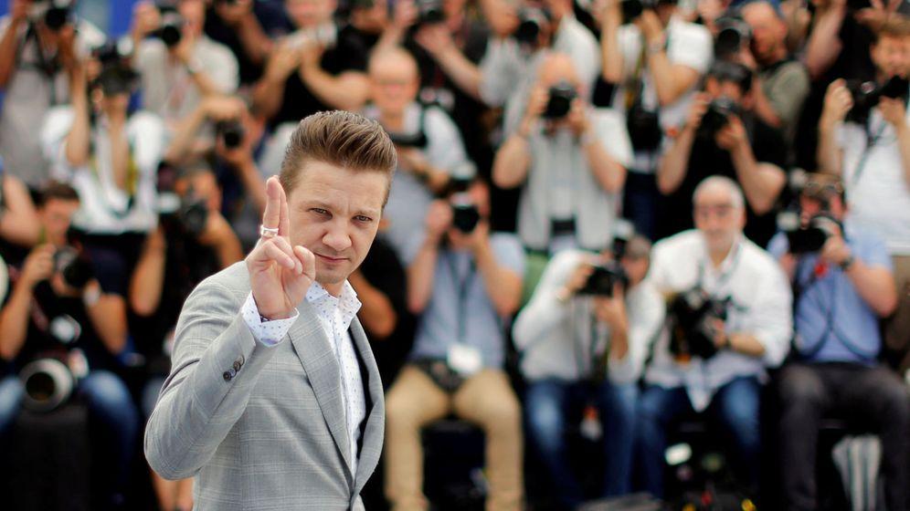 Foto: El actor Jeremy Renner en el Festival de cine de Cannes, en Francia, en 2017. (Reuters)