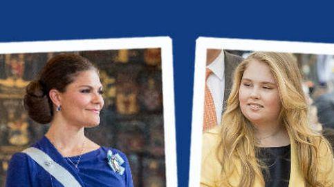 Estilo Real: el gran debut de Amalia de Holanda y el brillo de Victoria de Suecia