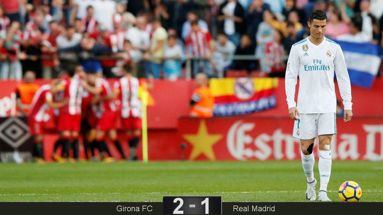 Foto: El Madrid se deja muchas opciones de título en Montilivi. (Reuters)